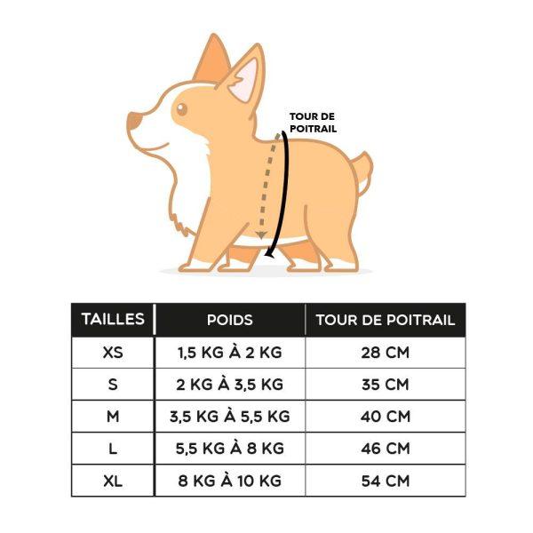 Harnais petit chien Harnais pour chien Doggy & Co 8