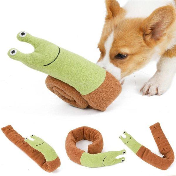 Tapis de fouille pour chien reniflage escargot