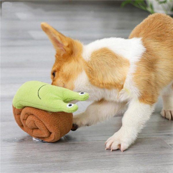 Tapis de fouille pour chien escargot