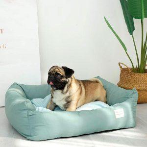 Lit pour chien carré confortable Coussins pour chien Doggy & Co