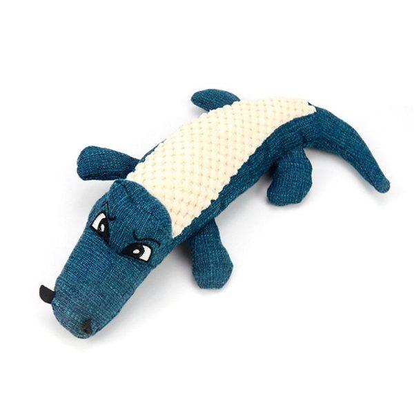 Peluche pour chien Crocodile Jouets pour Chiens Doggy & Co 3