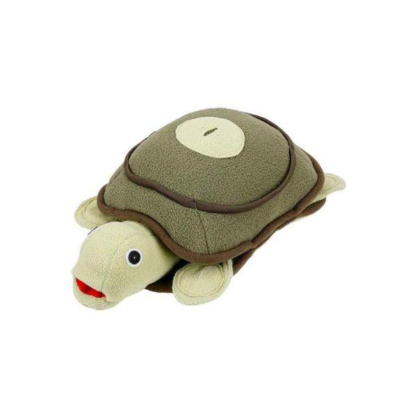 Peluche de fouille pour chien tortue