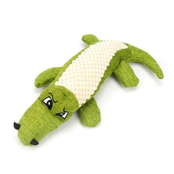 Peluche pour chien Crocodile Jouets pour Chiens Doggy & Co 4
