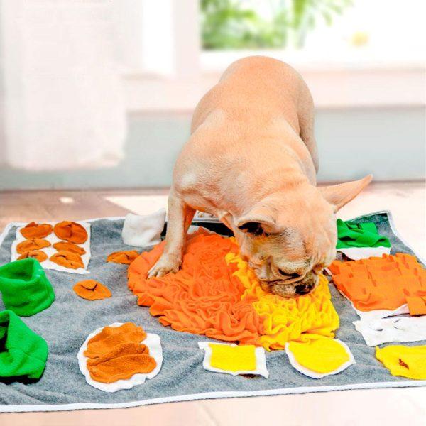 Tapis de fouille coloré en flanelle Jouets pour Chiens Doggy & Co 3