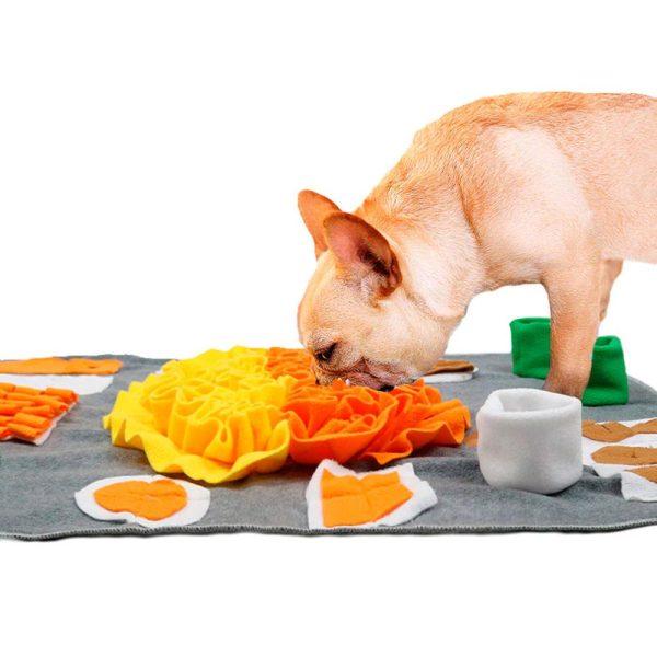Tapis de fouille coloré en flanelle Jouets pour Chiens Doggy & Co 6
