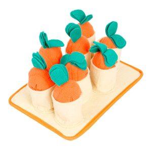 Tapis de fouille pour chien avec carotte détachables Jouets pour Chiens Doggy & Co 2
