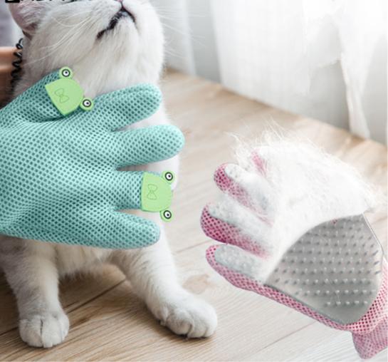 Gant de Brossage pour chien et chat - Doggy & Co