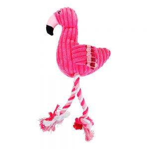 Peluche pour chien – Flamant rose Jouets pour Chiens Doggy & Co 2