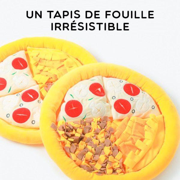 Tapis de fouille en forme de pizza Jouets pour Chiens Doggy & Co 6